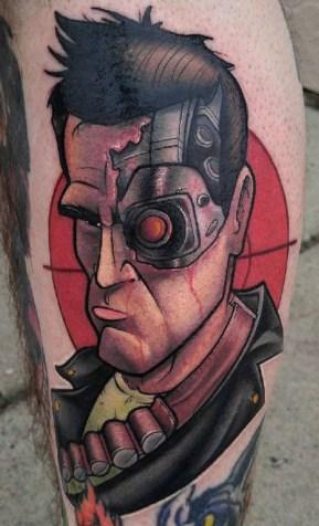 Thom Bulman best of tattoo geek terminator