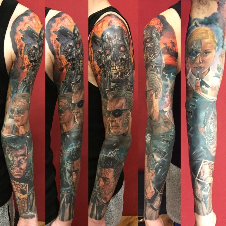 Dean Tattooer best of tattoo geek terminator