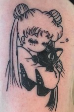 DORK Tattoo Parlor geek best of tattoo sailor moon