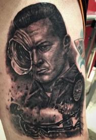 Julio Alcazar best of tattoo geek terminator
