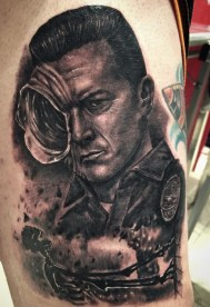Julio Alcazar best of tattoo geek terminator