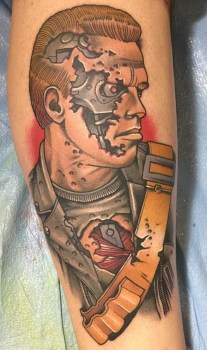 Nick Sarich best of tattoo geek terminator