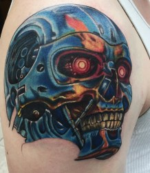 Wild Zero Studios best of tattoo geek terminator