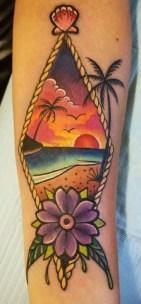Dan Coverstone best of tattoo geek beach