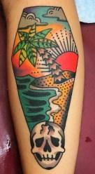 Jon Larson best of tattoo geek beach