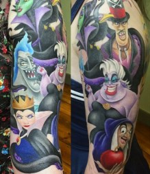 Bethany Rivers best of tattoo geek peau villains