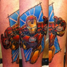 Andy Walker best of tattoo iron man