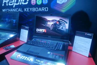 MSI gamescom 2017