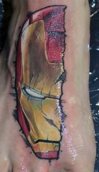 Troy Slack best of tattoo iron man