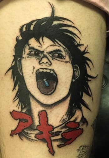 Nary Huval best of tattoo geek akira