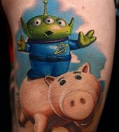Nikko Hurtado Best of Tattoo Toy Story
