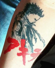 Roger Marx best of tattoo geek akira