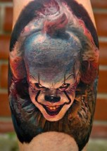 Stefan best of tattoo it ca pennywise clown horror movie float