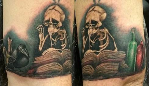 Dan Barren best of tattoo corpse bride tim burton