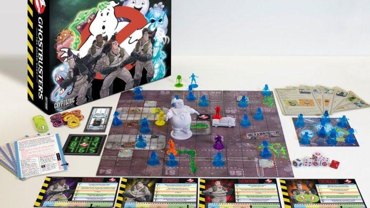 Tom's Selec - jeu de plateau ghostbusters