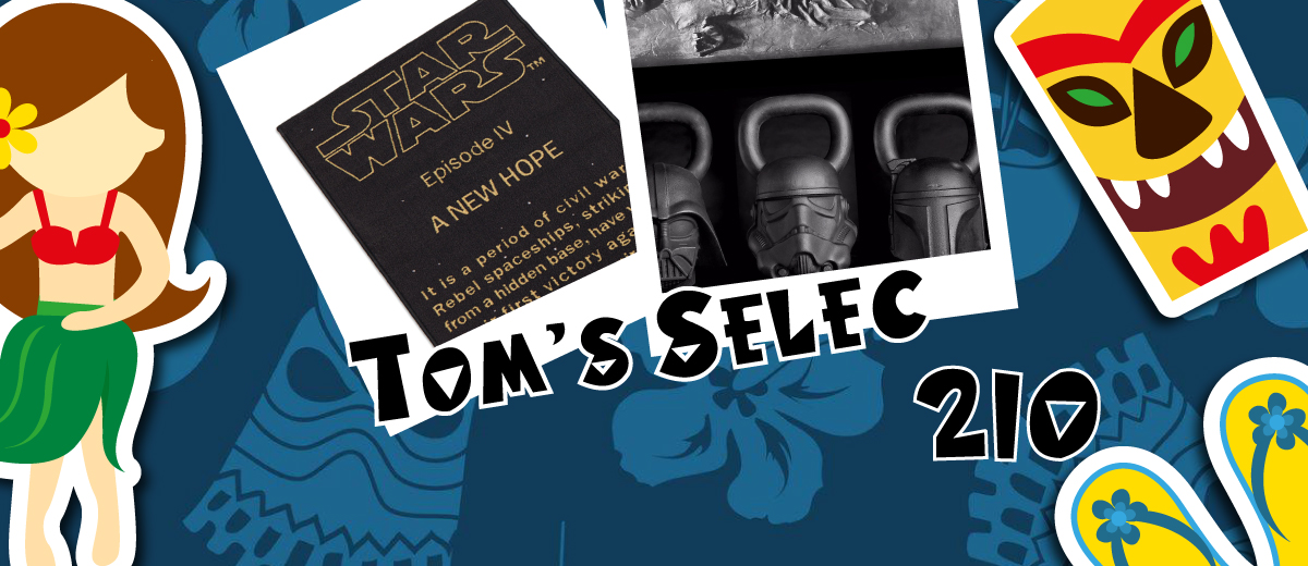 Tom's Selec #210 : Geek'em All !!