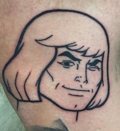 Trench Geek Best of Tattoo He Man Skeletor