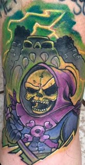 XDATA Geek Best of Tattoo He Man Skeletor
