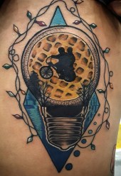 Jeff Beck stranger things geek peau best of tattoo