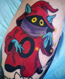 Jeff Farmer Geek Best of Tattoo He Man Skeletor