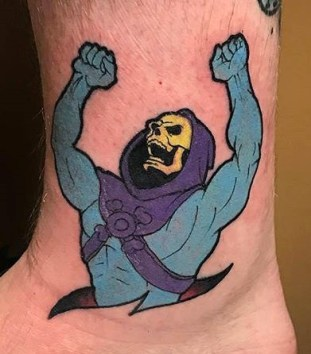 Rick Meggison Geek Best of Tattoo He Man Skeletor