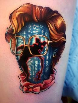 Jeremy Sloo Hamilton stranger things geek peau best of tattoo