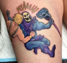 Emily Geek Best of Tattoo He Man Skeletor