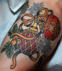 Betty Rose best of tattoo geek peau christmas