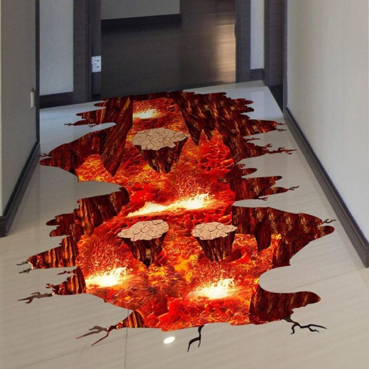 Tom's Selec - sticker the floor is lava