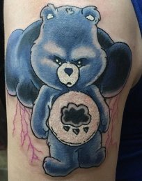 Craig Gillispie best of tattoo care bears bisounours