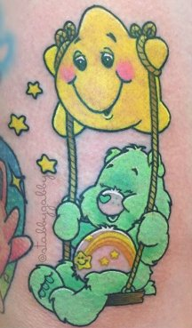 Gabby Maravelas best of tattoo care bears bisounours