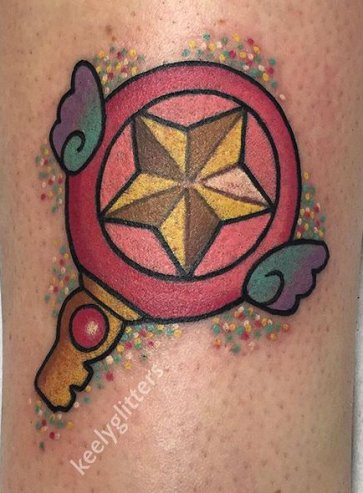 Best of Tattoo Sakura Card Captor manga tattoo geek Keely Rutherford