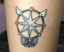Leto Martín Best of Tattoo Sakura Card Captor manga tattoo geek