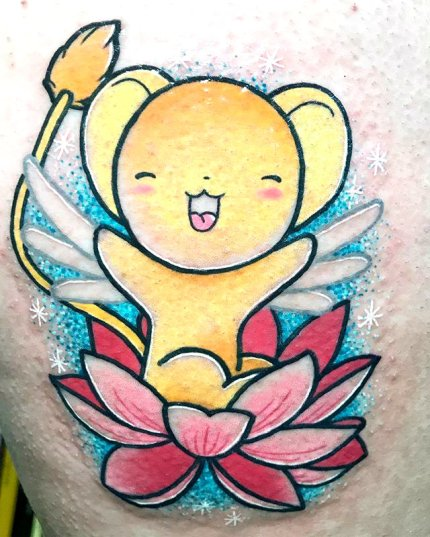 Meri Best of Tattoo Sakura Card Captor manga tattoo geek