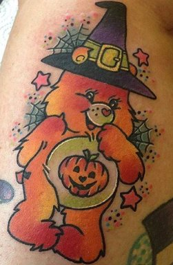 Roxy Ryder best of tattoo care bears bisounours