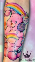 deviwuhsak best of tattoo care bears bisounours
