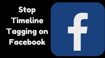Stop Timeline Tagging On facebook