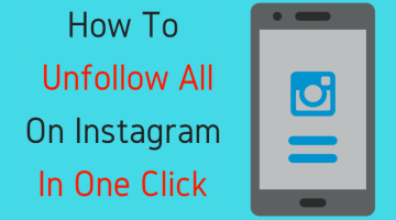 How To Unfollow all On Instagram in one click (Simple Method)