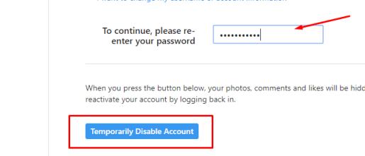 delete my Instagram account