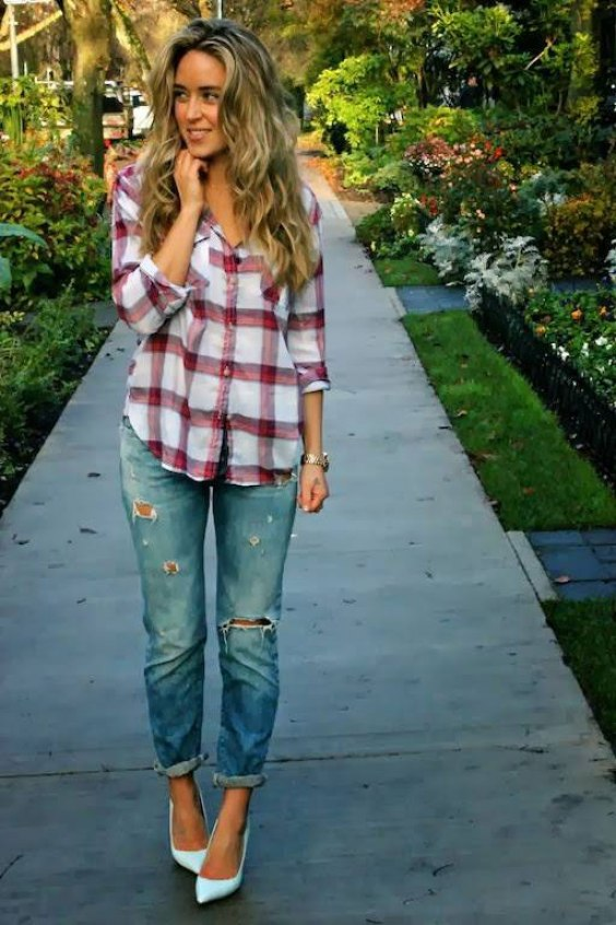 flannel outfits for women