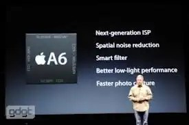 Apple A6 chipset