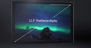 Microsoft Surface Pro 4 Display Design Image