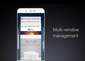 MIUI 8 Features Multi-Window