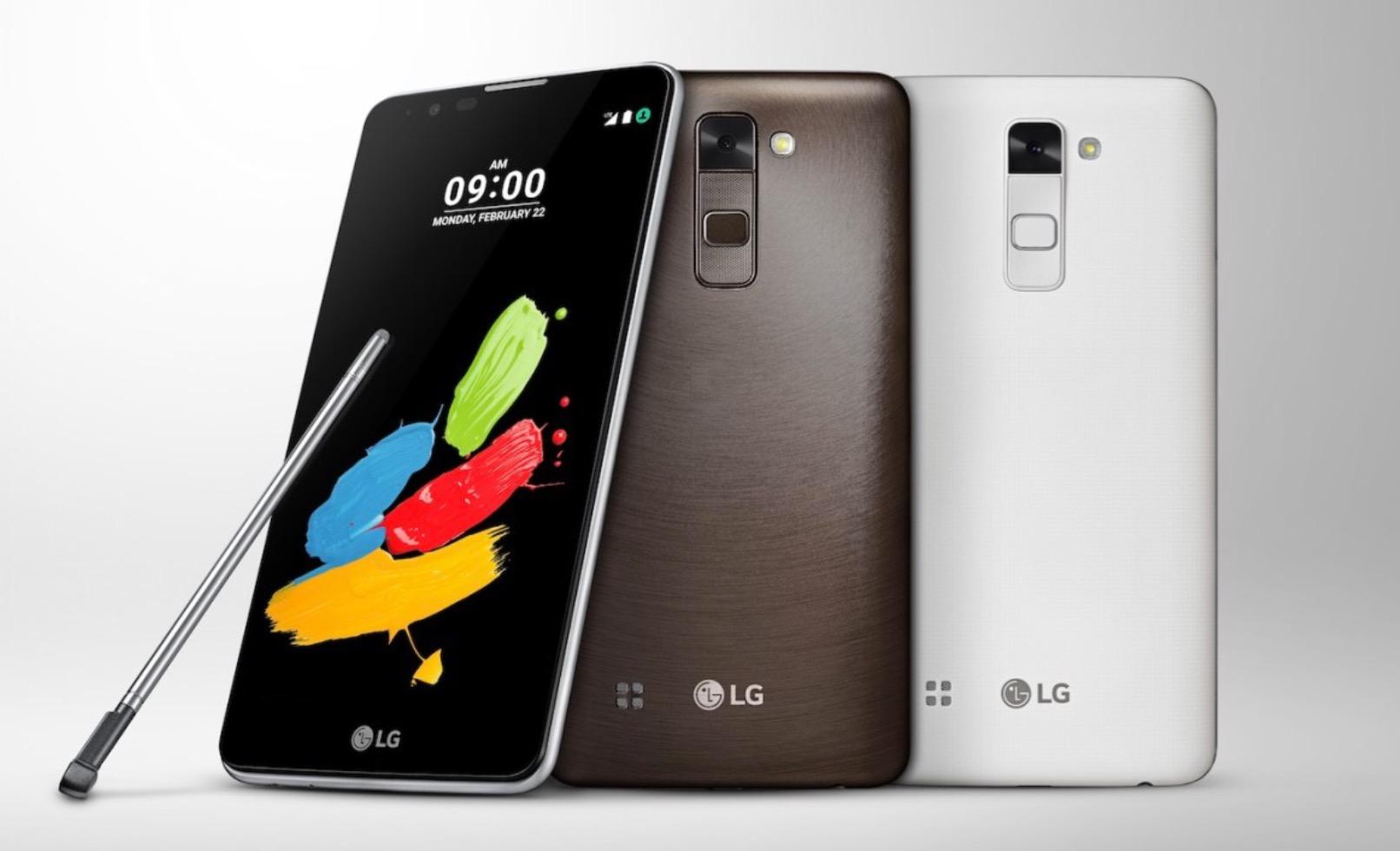 LG Stylus 2 Display And Resolution