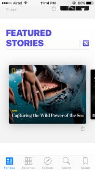 iOS All New NEWS App Upgrade