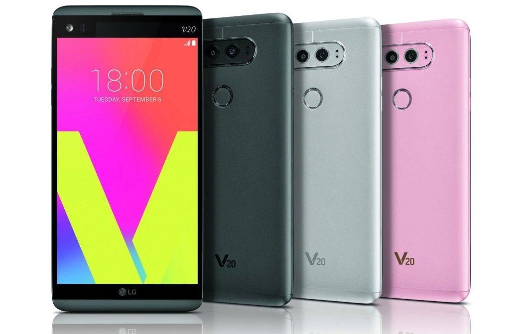 LG V20 Colors