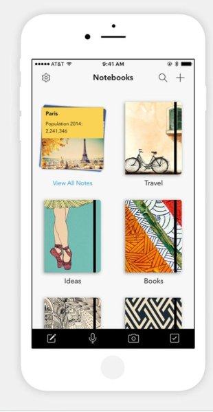 Notebook App in iOS 10