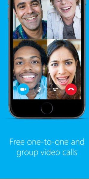 Skype in iOS 10