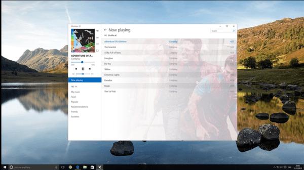 Meridian Windows App