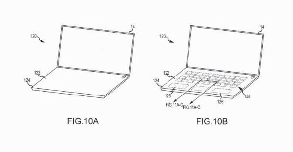 Apple MaBook Keyboard Patent For Virtual Keys
